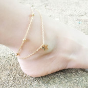 Ankle Chain Star.