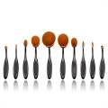 Mermaid Oval Brushes - 10 Set