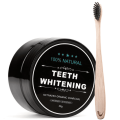 Kit Blanchisseur de Dents Teeth Whitening® 100% Bio au Charbon Actif + Brosse à dents Bambou