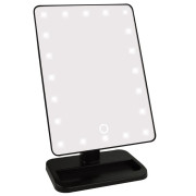Miroir Maquillage UNIQ® Hollywood 21 LED - Noir