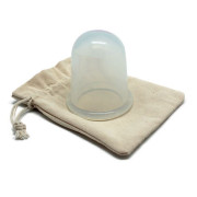 Cup XL UNIQ® spécial Massage par succion Anti Cellulite - Transparent