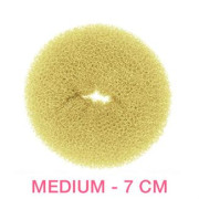 Medium– Donut / Bun (7 cm) - blond