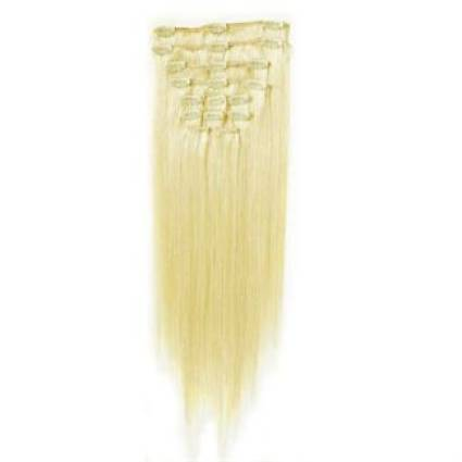 Clip on Extension (50 cm)  #60 Blond Platine