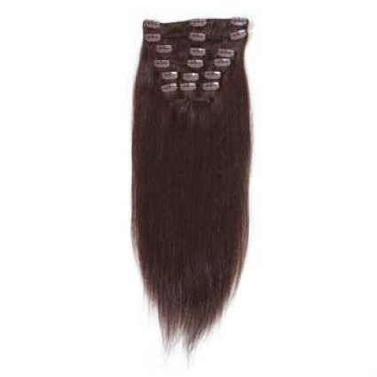 Clip on Extension (40 cm)  #2 Marron foncé